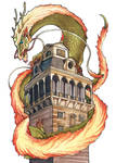 The Tower Dragon