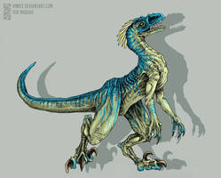 Raptor for Maquaii by vinree