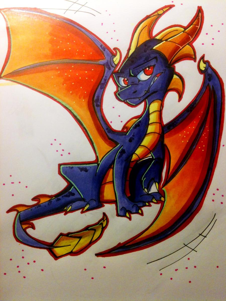 .:Skylander Spyro:. by Silver-HeartCrosser