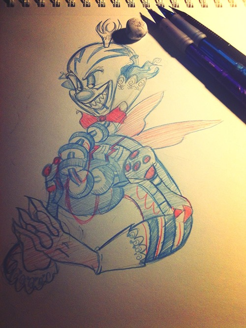 .: Sketch Book Scribbles: KCB One year Anni :. by Silver-HeartCrosser