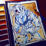 .: Berserk:. -Watercolor Commission-