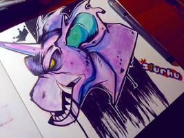 .:Nidoking:. -Daily Doodle- by Slurku