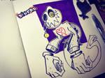 .:Search Ghost:. -Inktober Day Sixteen- by Slurku