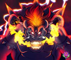.: Mega Fury Bowser:.