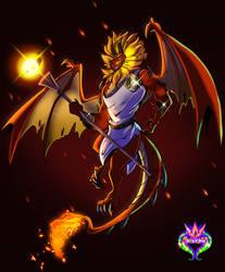 .:Sun Dragon:. -Commission-