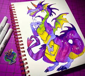 .: A peculiar dragon :.