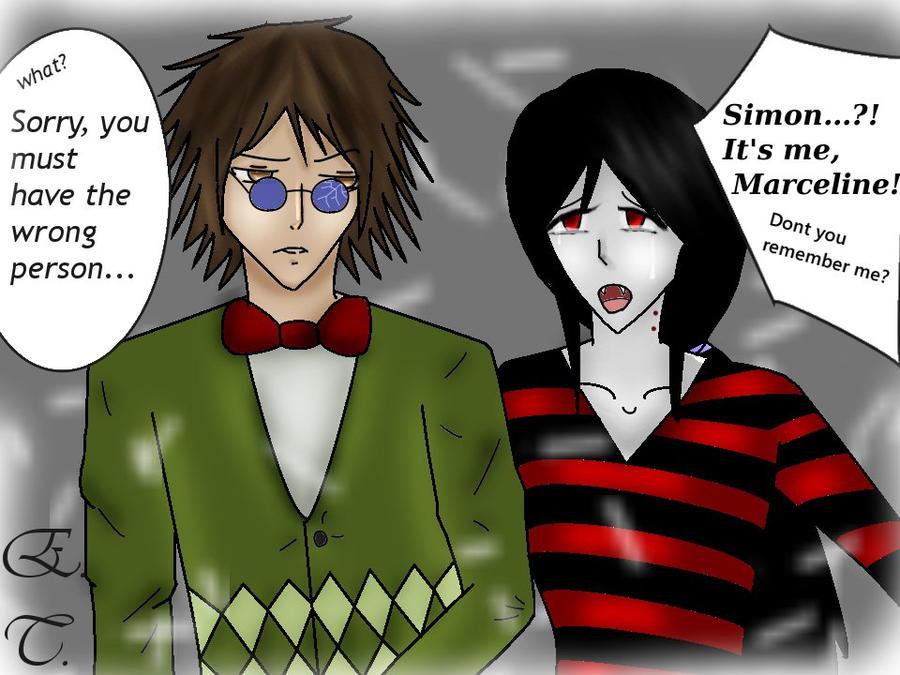 Simon and Marceline by ninjadove100