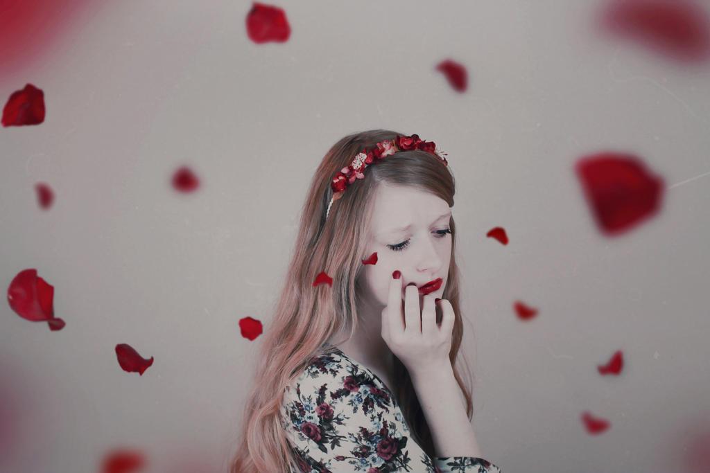 Gentle Tears by machihuahua