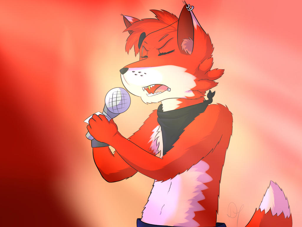 Singing foxy fnaf by xxdarkyoshi germanxx on deviantart