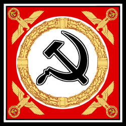 National Bolshevik Standard by ColumbianSFR