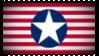 Fascist American Flag Stamp