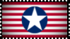 Fascist American Flag Stamp by ColumbianSFR