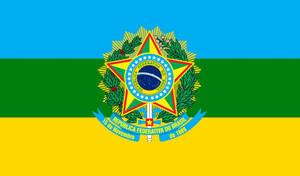 Alternate Flag of Brazil