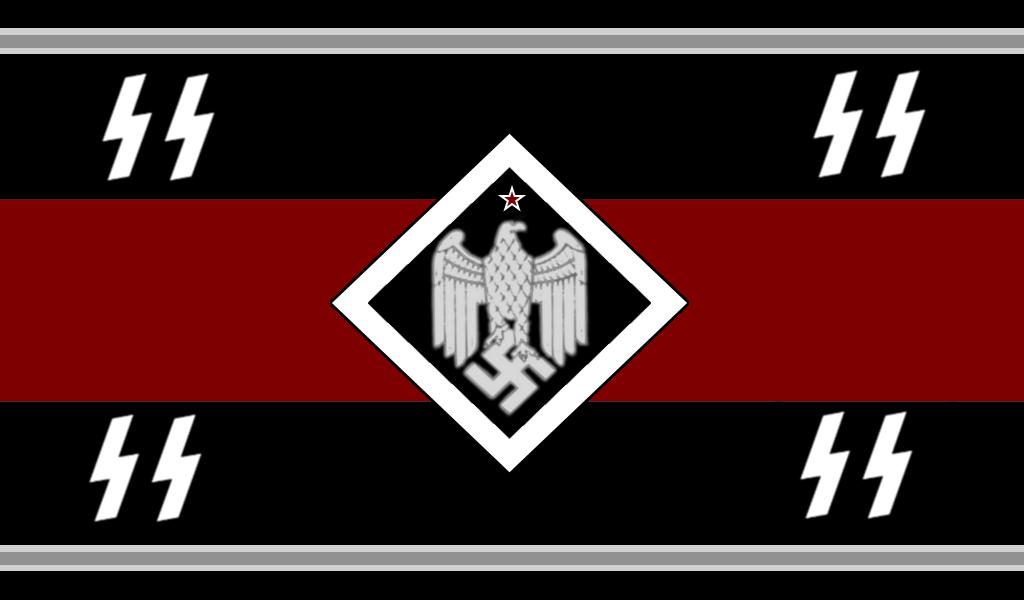 Alternate Waffen SS Flag by ColumbianSFR on DeviantArt