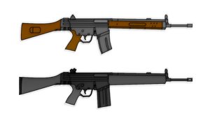 Cetme Rifle - HK G3