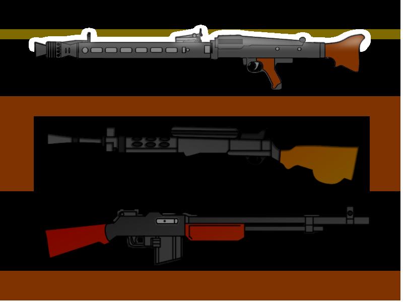 Maschinegewehr 42 Wallpaper: B.A.R. By ColumbianSFR