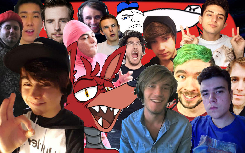 Youtubers Wallpaper Male Part 1 By JazzyMudkipzDA