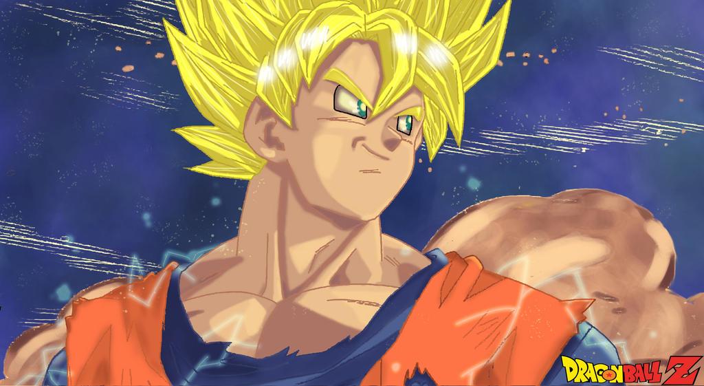 Gokus Sacrifice By Fullmetaljuzz