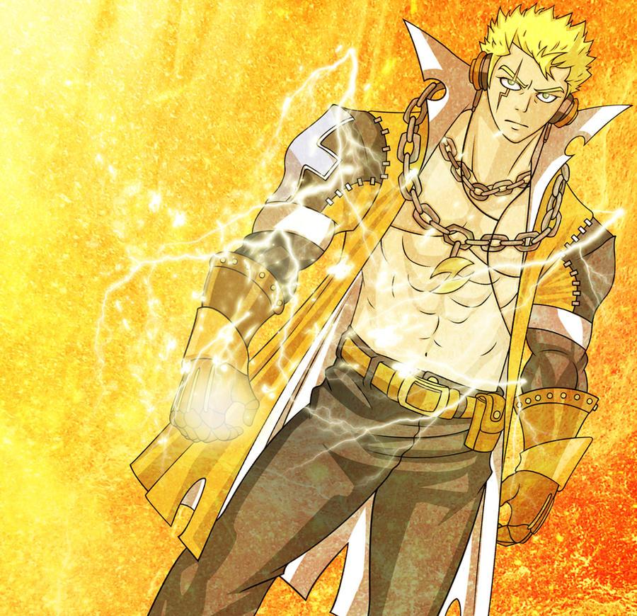 Laxus The Lightning Dragon Slayer 3 by fullmetaljuzz on ...