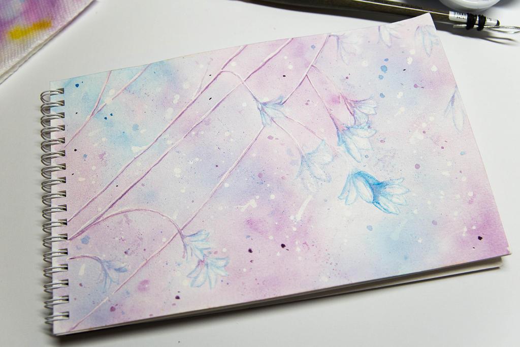 Watercolor Journal - 1 by teatimetomorrow