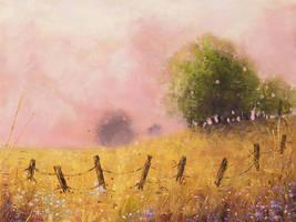 Quiet Pasture by teatimetomorrow