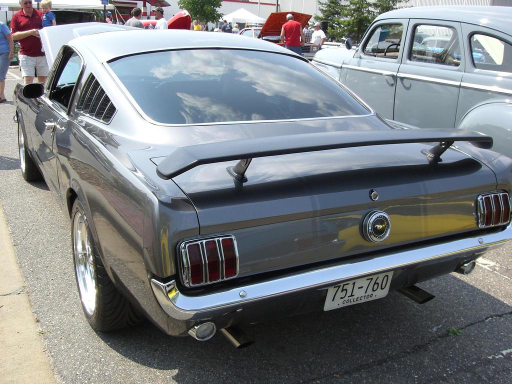 1965 Fastback Mustang Rear By Shadows Soul On Deviantart