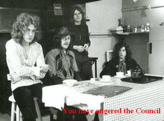The council of Led Zeppelin by ladystardust1847