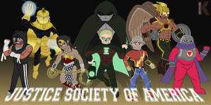 Mult 52: Justice Society of America by BigK64