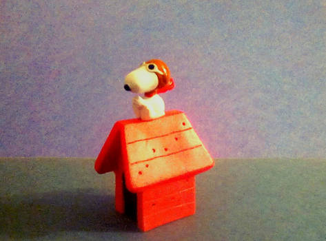 Snoopy, The Flying Ace Figure