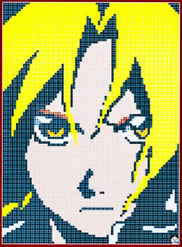 Edward Elric Pixel Art