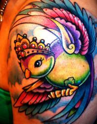 Sparrow Tattoo sleeve