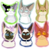 beautiful kitties oh my . l-c requests by WistyCat