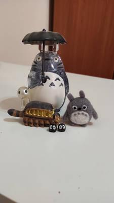 Totoro Needle felting