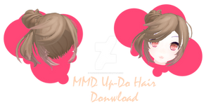 .:MMD - Up-Do Hair Download:.