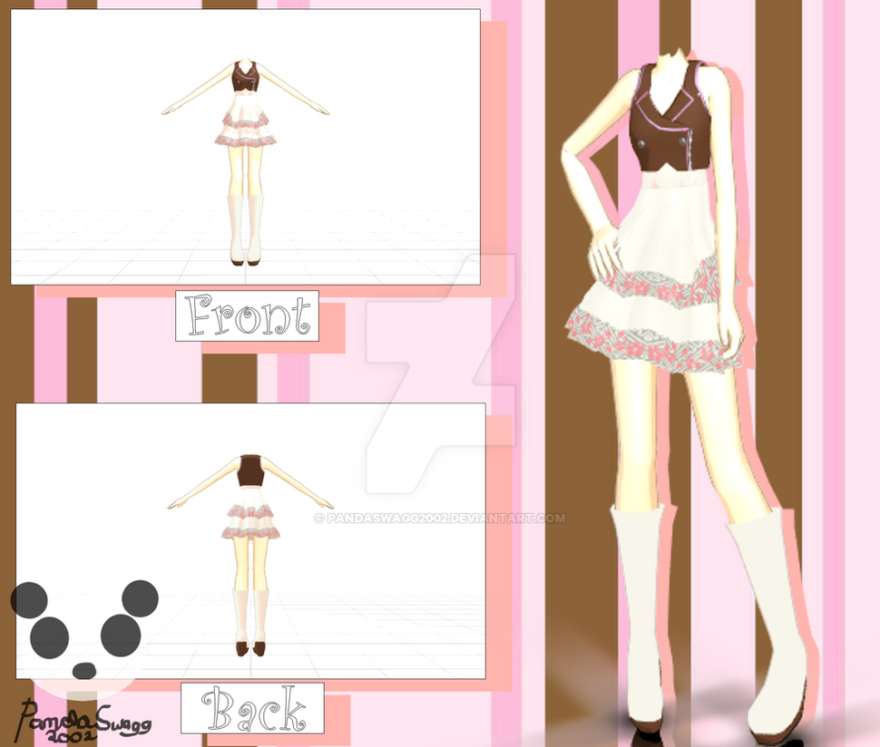 Mmd Casual Outfit Download By Pandaswagg2002 On