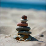 Balanced stones by Mrs-Cloudia-S