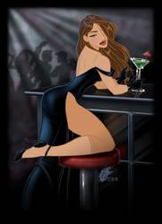 Night at the Bar by davidkawena