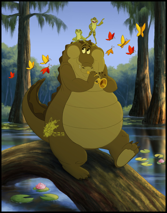 Princess and the frog louis - photo#50