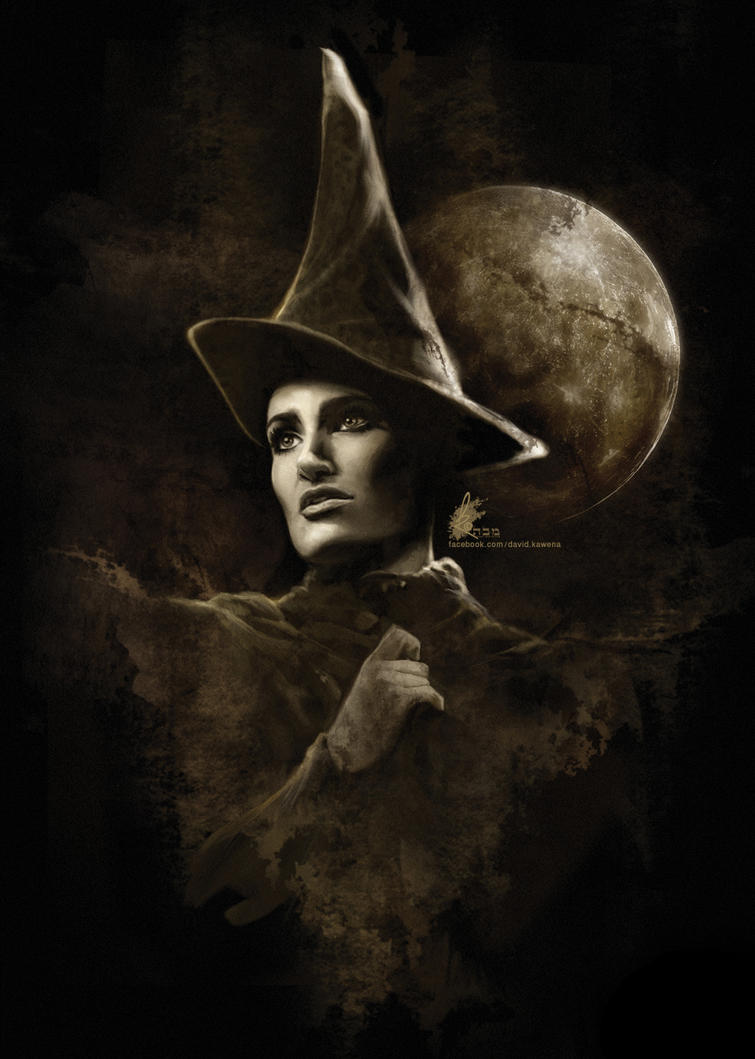 Idina Menzel in WICKED by davidkawena