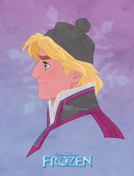 Disney's FROZEN - Kristoff by David Kawena by davidkawena