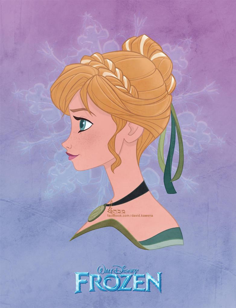Disney's FROZEN - Anna by David Kawena by davidkawena