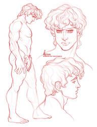 Michelangelo inspiration by davidkawena