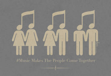 Music Makes The People Come Together by davidkawena