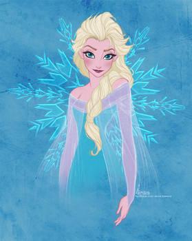 Disney's FROZEN - Elsa by David Kawena