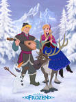Disney's FROZEN - Full Colour and in 2D!
