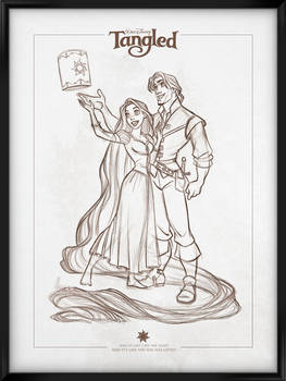 Walt Disney's Signature Collection - TANGLED