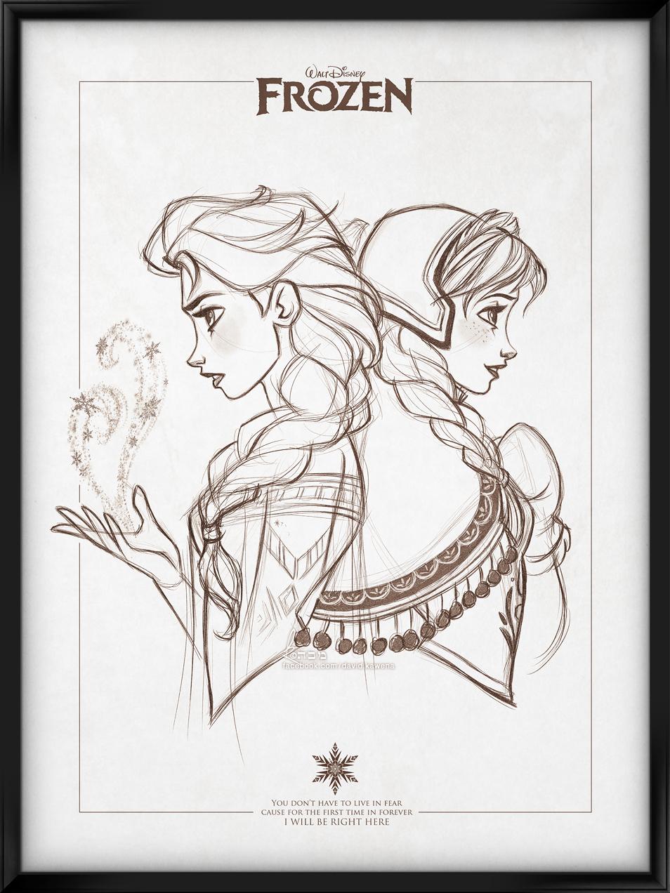 Walt Disney's Signature Collection - FROZEN by davidkawena