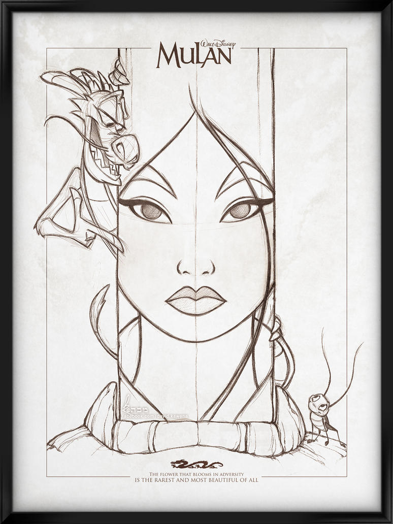 Walt Disney's Signature Collection - MULAN by davidkawena