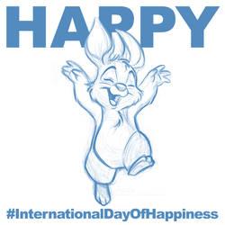 International Day Of Happiness 2015 by davidkawena