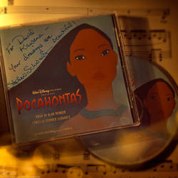 Pocahontas SE CD Gift from Stephen Schwartz -